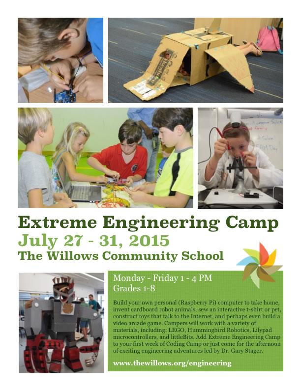 Extreme Engineering Camp (Gary)