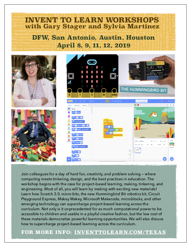 Invent to Learn 2019 Texas Workshop Tour